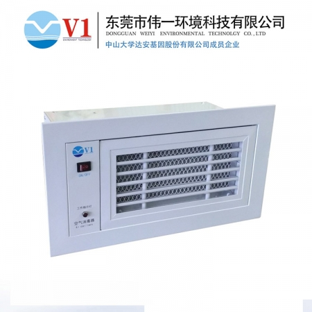 中间空调净化消毒机的净化原理